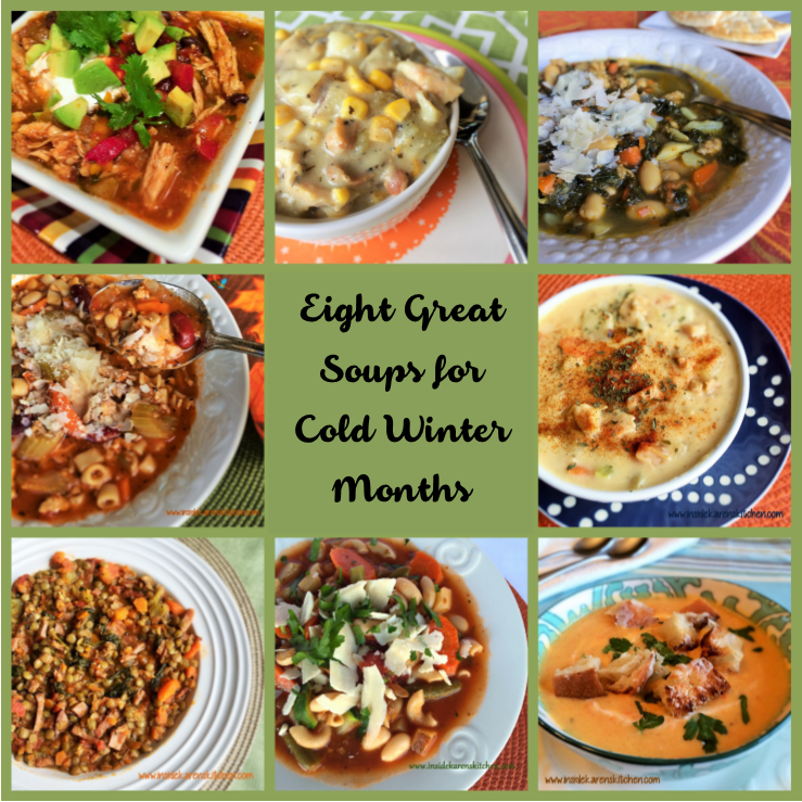Eight Soups Collage