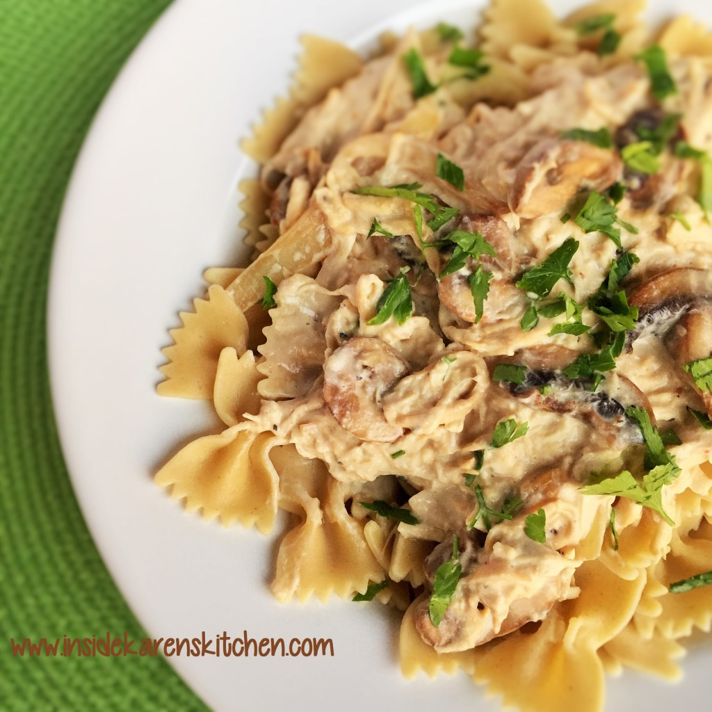 Slow Cooker Chicken Stroganoff 2