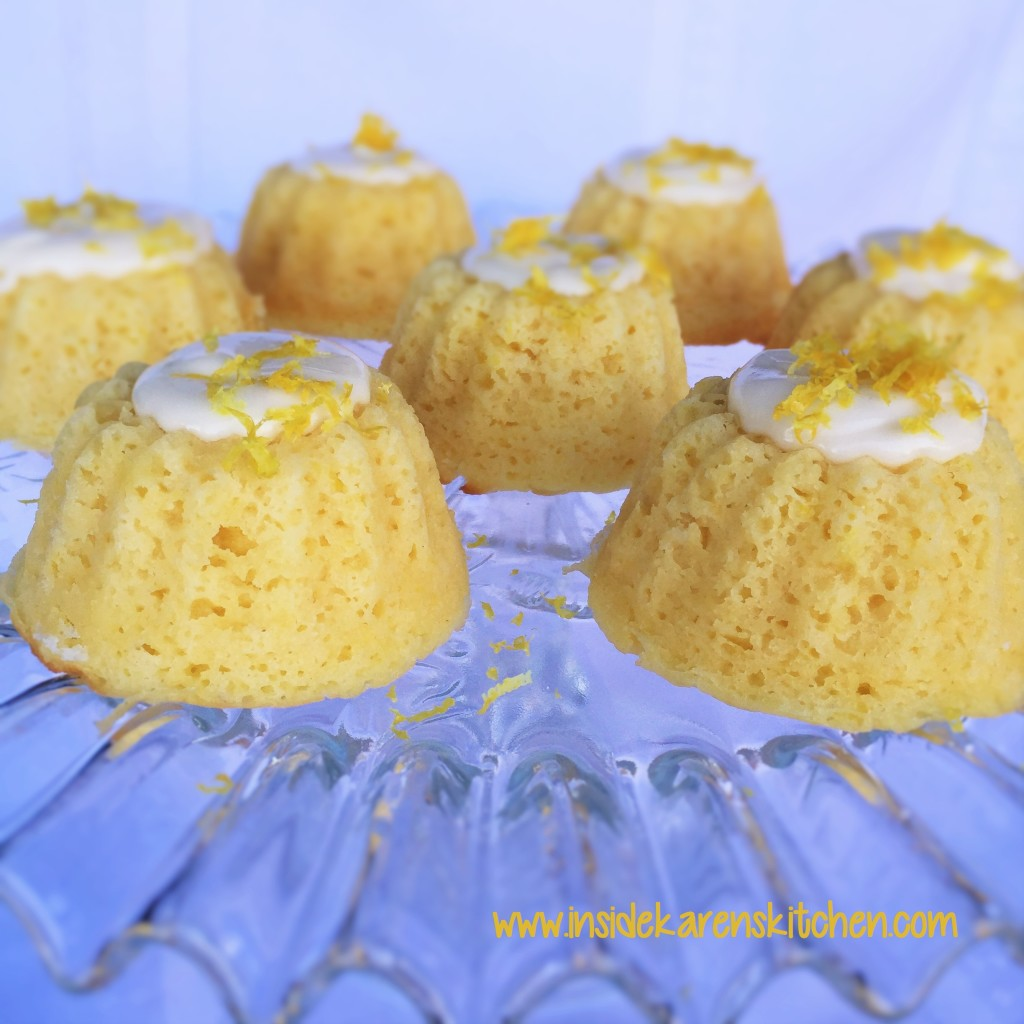 Mini Lemon Bundt Cakes 2