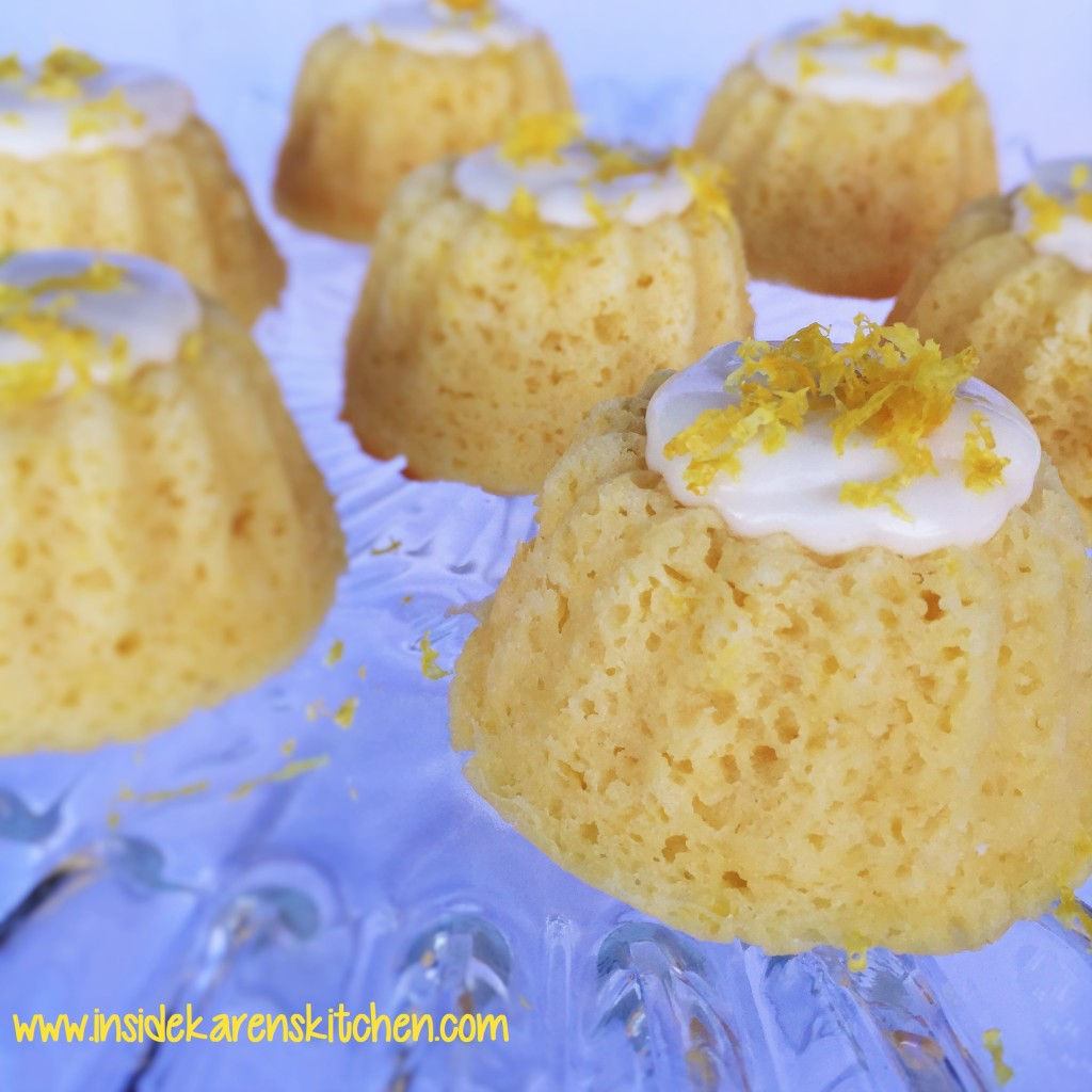 Mini Lemon Bundt Cakes 4