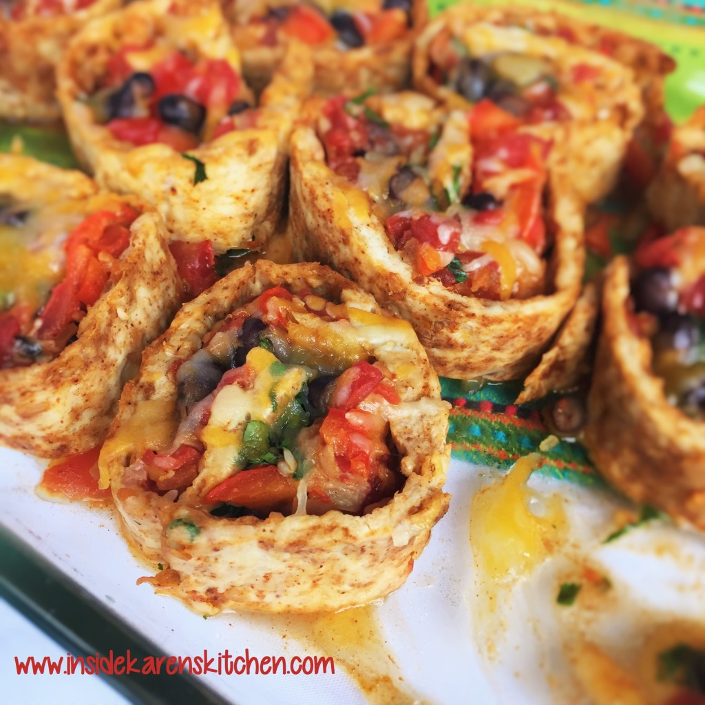 Chicken-Crusted Southwestern Pizza Rolls 3