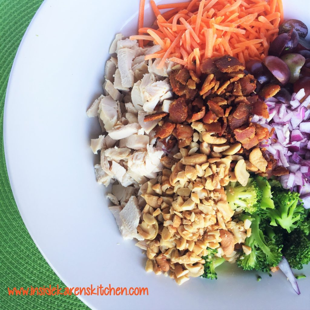 Chicken and Broccoli Salad 1
