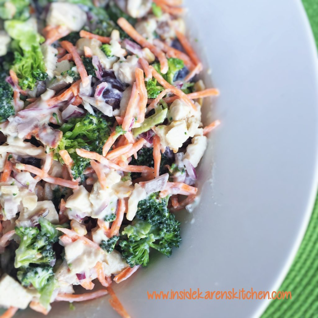 Chicken and Broccoli Salad 3