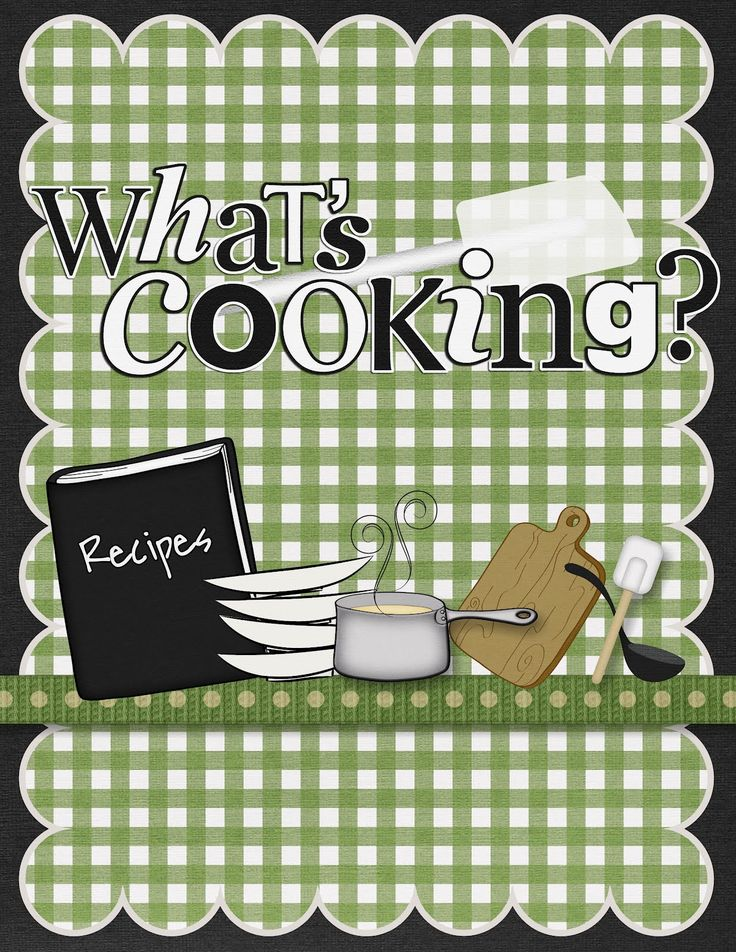 Cookbook Covers ~ Meal planning or in other words what s for dinner