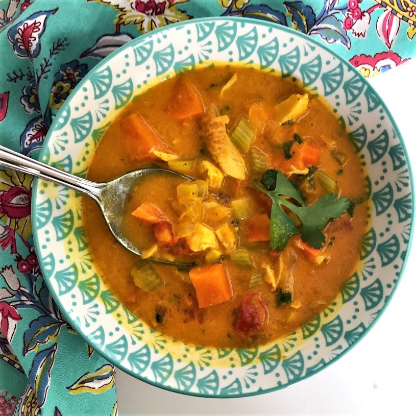 Chicken Mulligatawny Soup Karen Mangum Nutrition