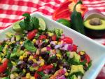 Avocado Lime Black Bean Salad