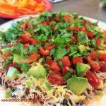 Simple Nine Layer Dip
